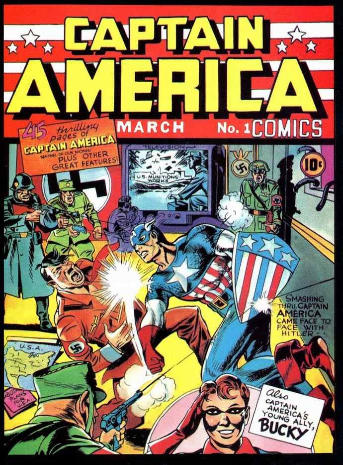 anti-nazi comics