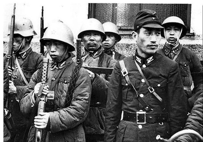 collaborationist-Chinese-army-japan-china-war-1931-45