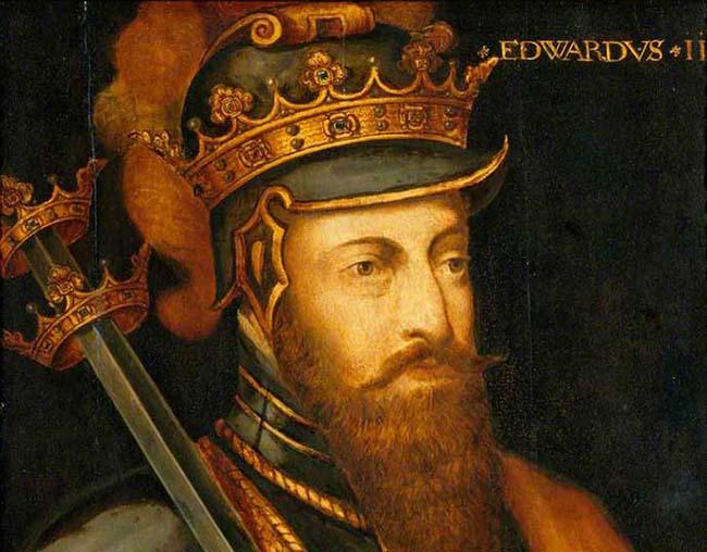 Painting of Edward III.