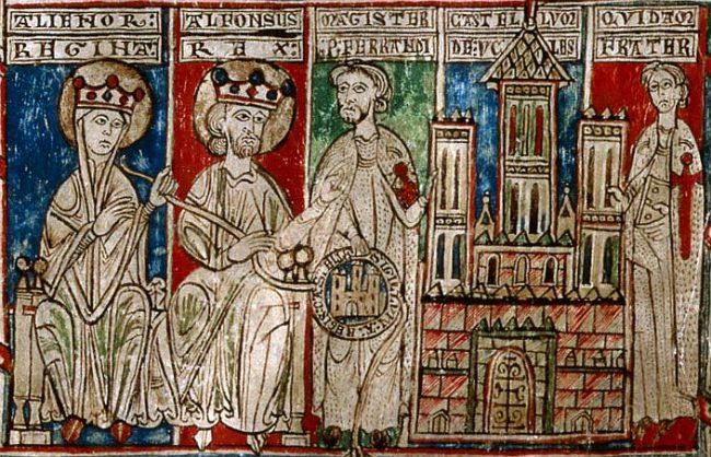 Eleanor and Alfonso VIII