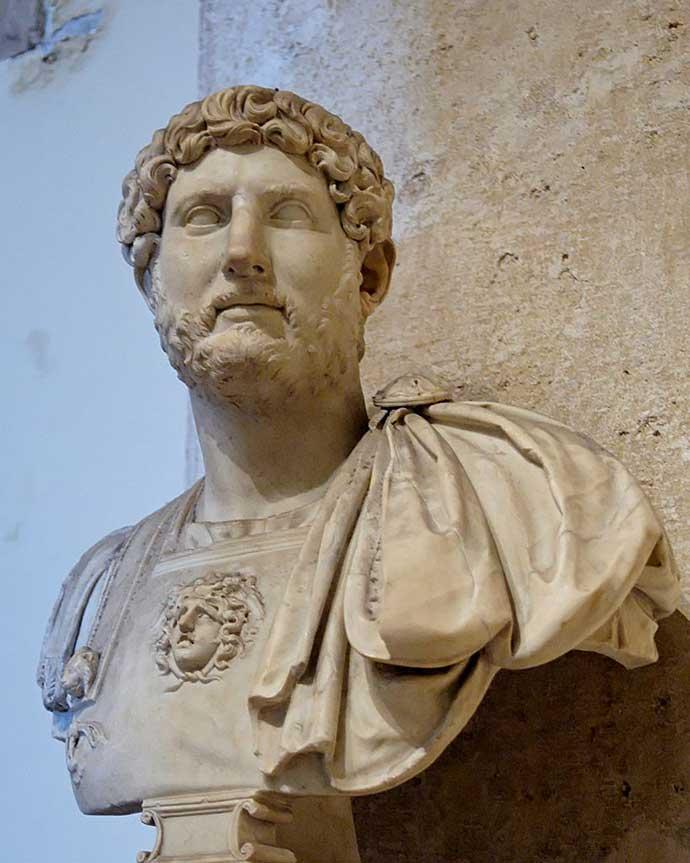 hadrian's travels