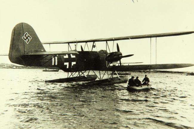 He 59 biplane
