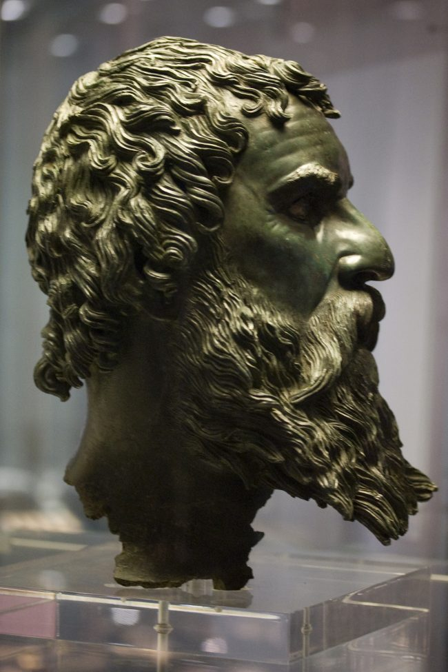 Bronze head of King Seuthes III.