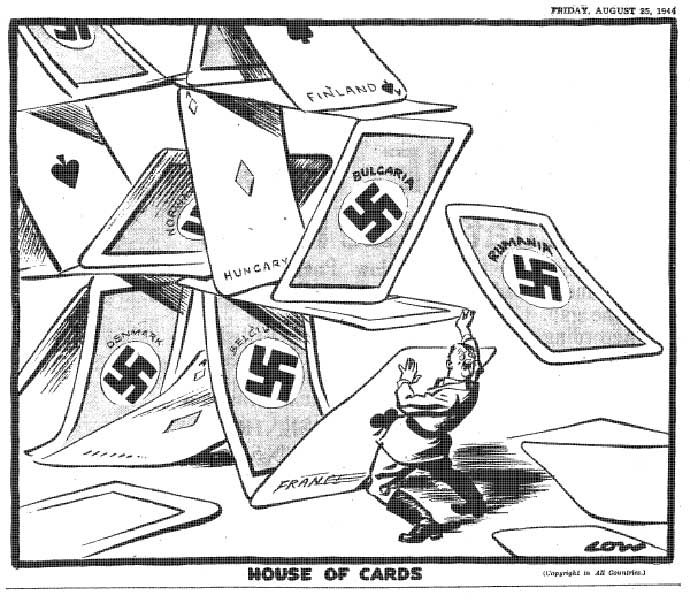 Low hitler house of cards