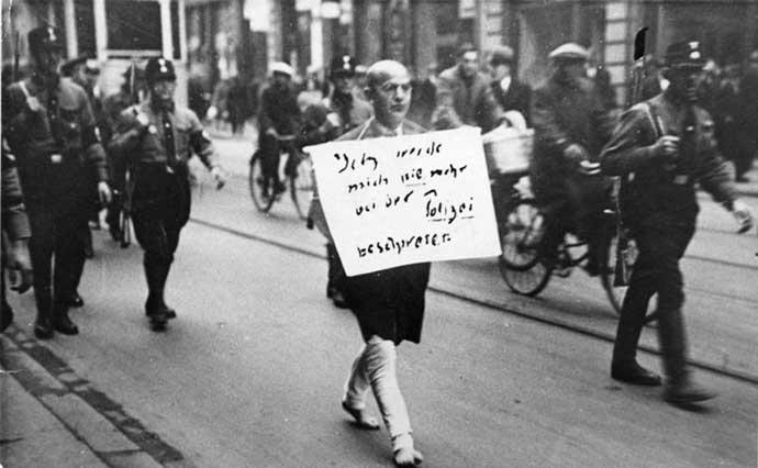 nazi treatment of jews