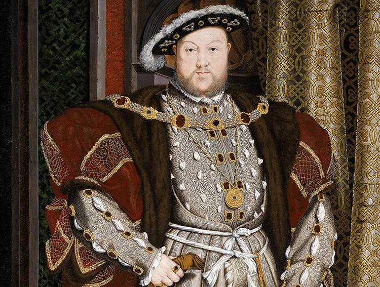 henry viii full length hans holbein