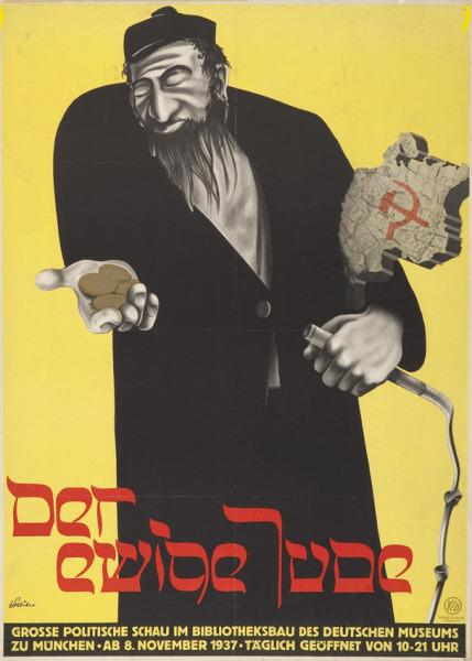 nazi anti-semitic propaganda