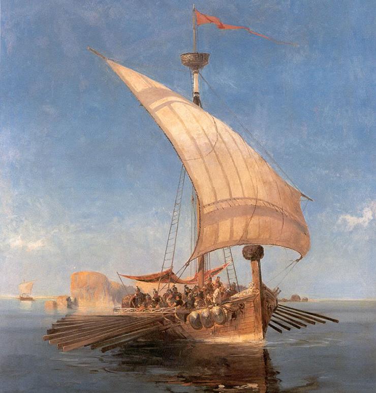 The Argo, by Konstantinos Volanakis (1837–1907).