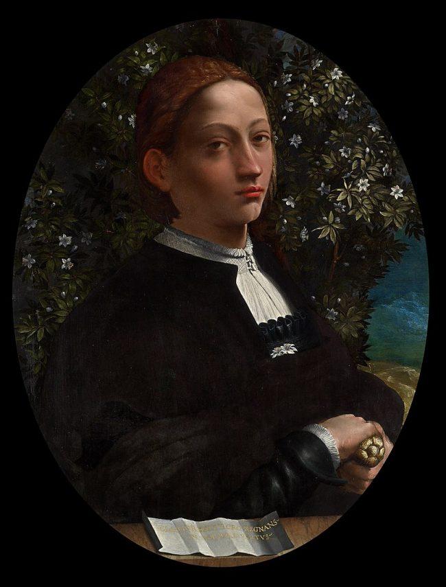 Lucrezia portrait