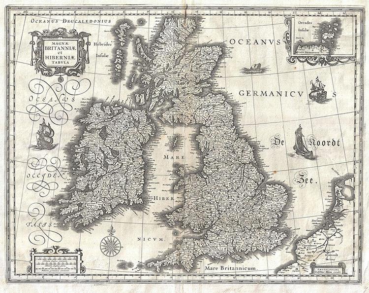 1631 map british isles