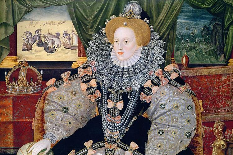 elizabeth i spanish armada portrait