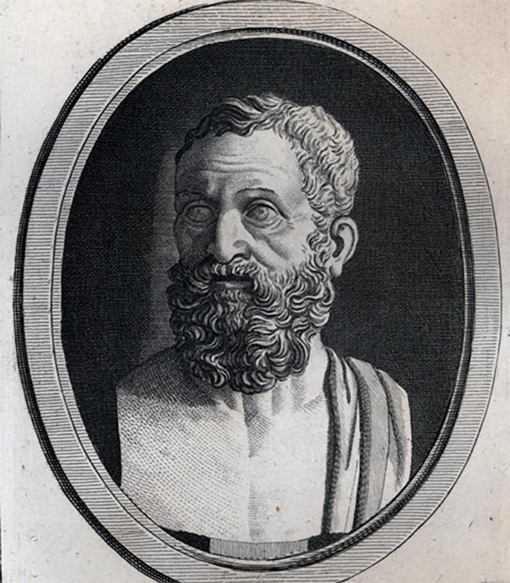 Portrait of Sallust.