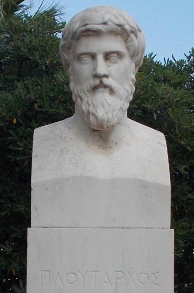 Plutarch Modern Statue