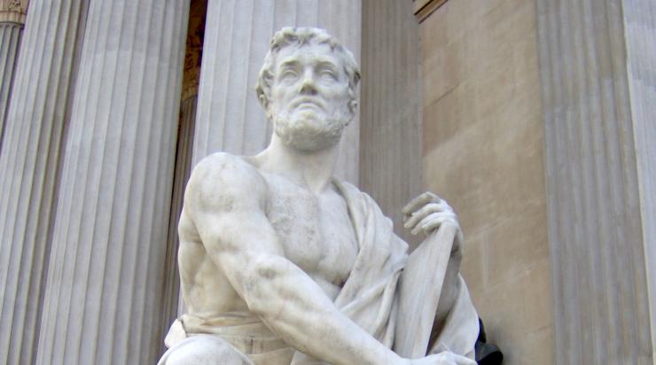 Tacitus Modern Statue