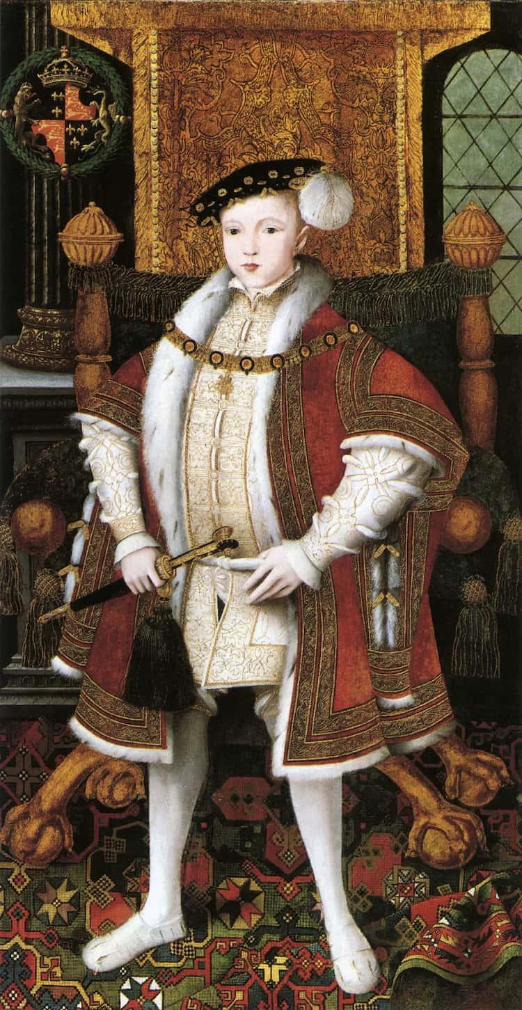edward vi boy king portrait