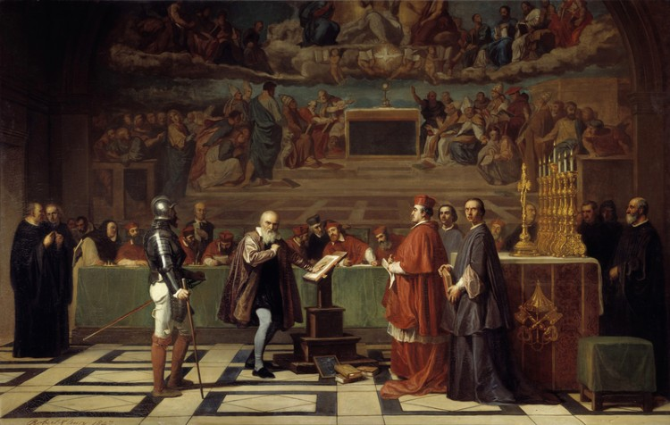 Galileo before the Holy Office - Joseph-Nicolas Robert-Fleury 1847