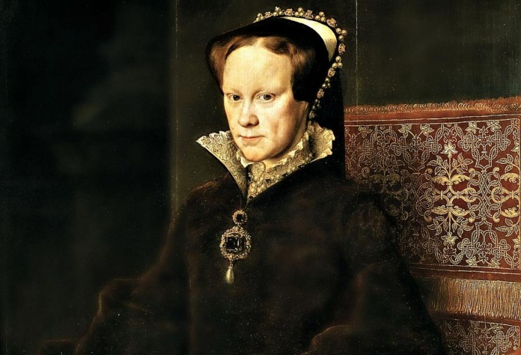 Portrait of Mary Tudor by Antonius Mor