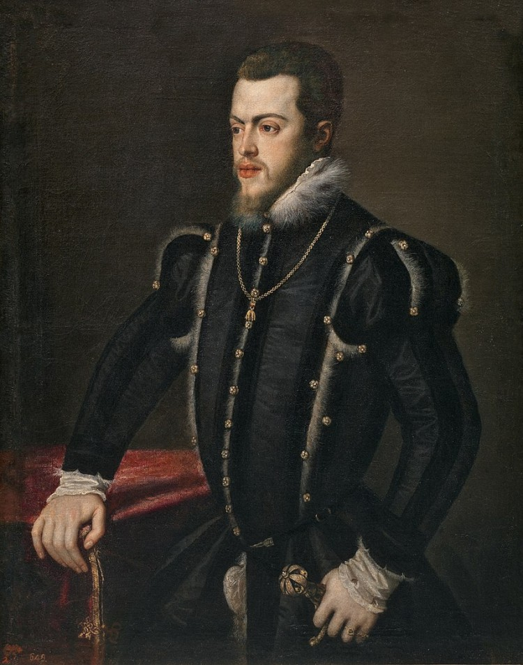 Portrait of Prince Philip of Spain by Titian