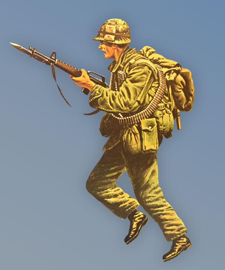 US Soldier Vietnam