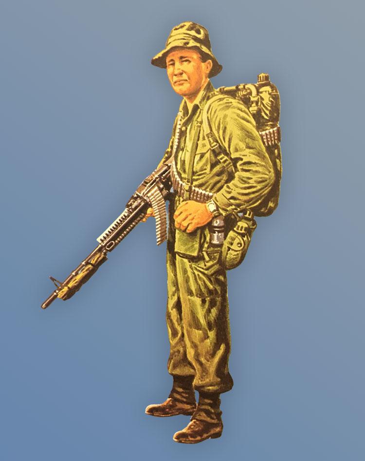Australian Soldier Vietnam