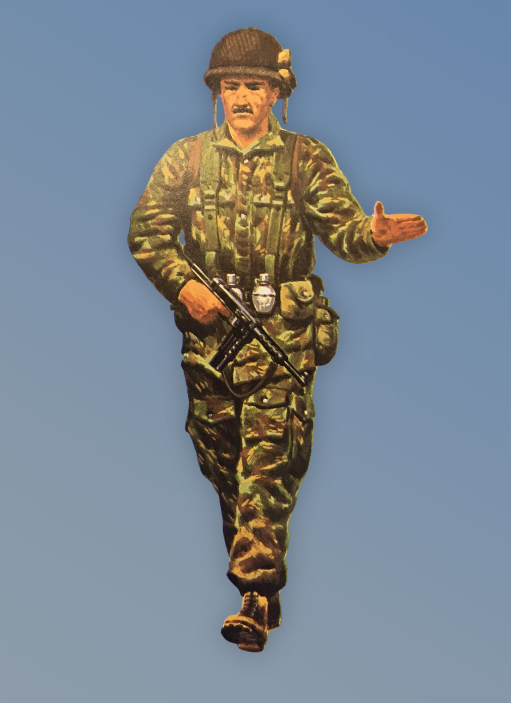 French Soldier Vietnam