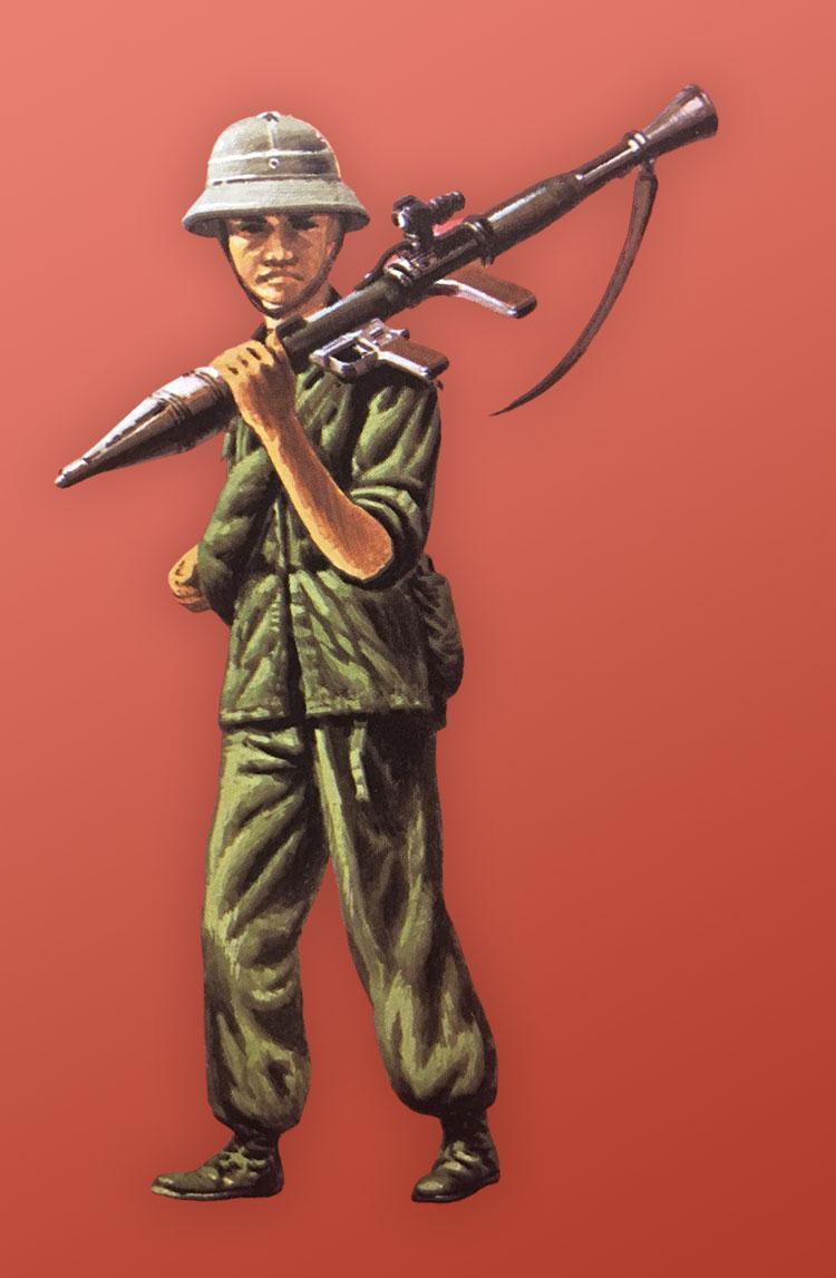 North Vietnamese Soldier Vietnam War