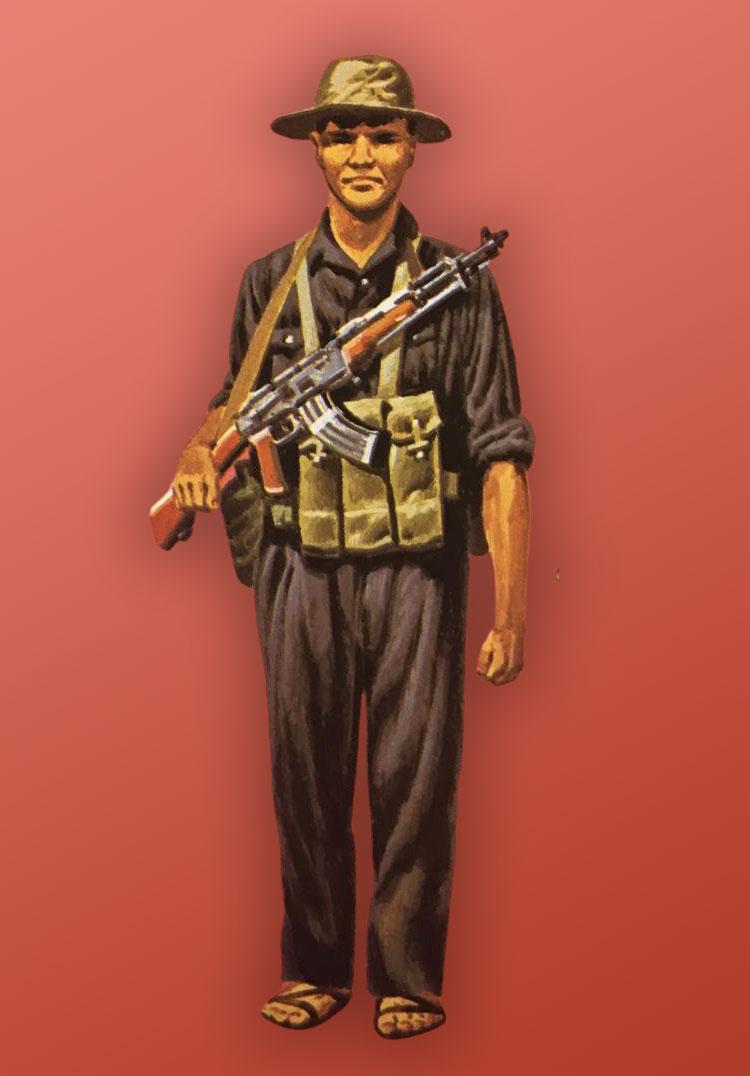 Vietcong Soldier Vietnam