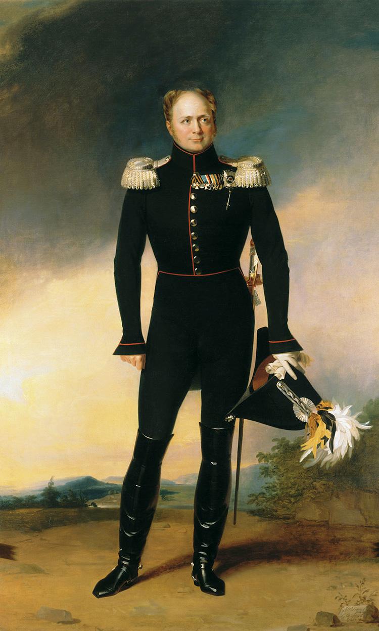 alexander i russia emperor tsar romanov portrait