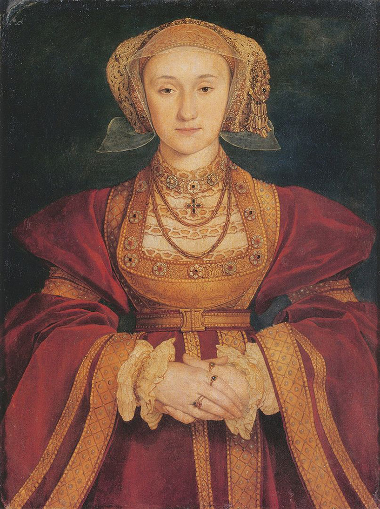 anne of cleves flanders mare henry viii holbein portrait