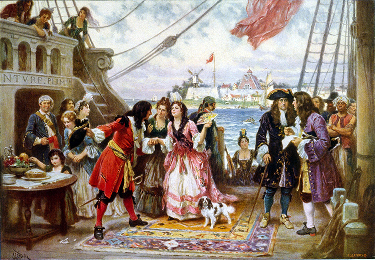 Captain Kidd Painting