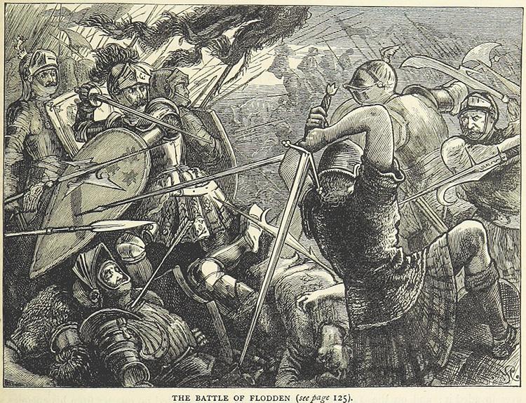 flodden field battle james iv scotland england henry viii victory