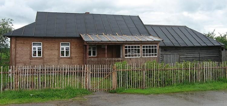 Gagarin family home in Klushino
