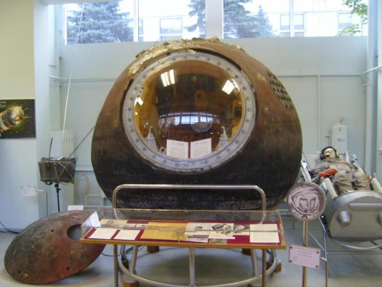 Gagarin's Vostok 1 capsule