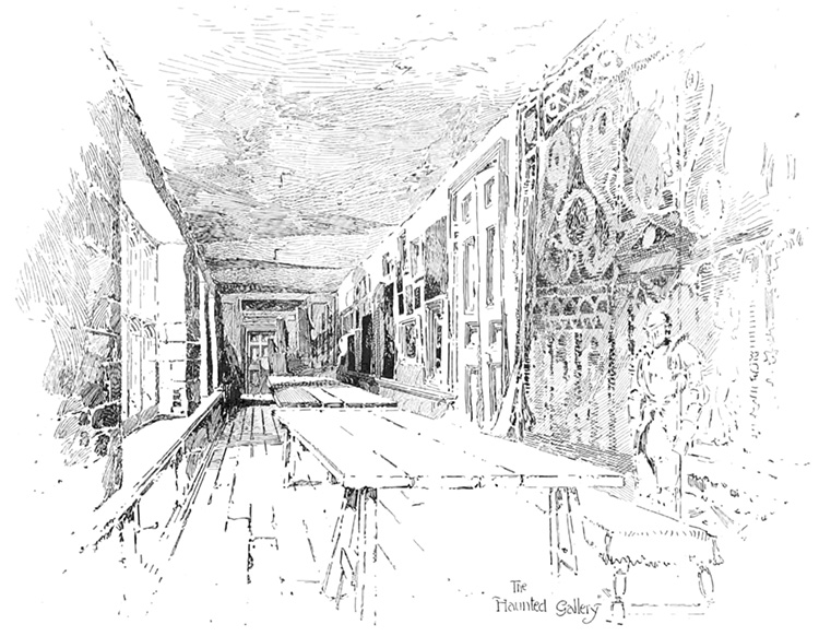 katherine howard hampton court long gallery haunted ghosts