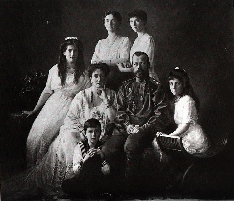 last of the romanov family nicholas ii tsar tsarina 1913