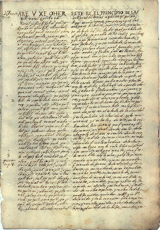 popl vuh maya gods text sacred mexico guatemala