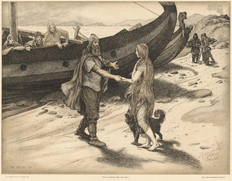 Ragnar Lodbrok meets Aslaug