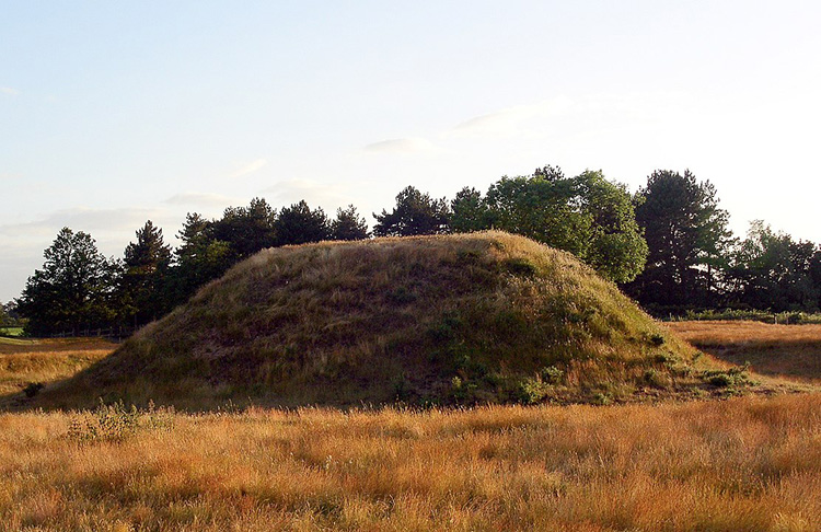 the dig sutton hoo burial mound anglo saxon