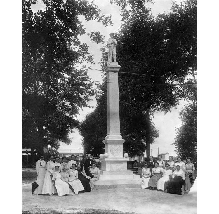 Confederate monument in Munn Park - Lakeland,Florida