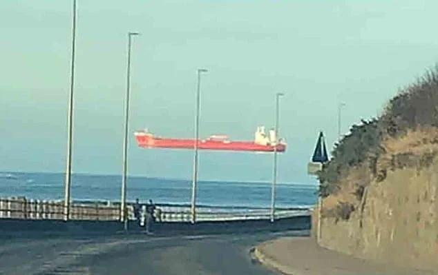 Floating ship, Aberdeenshire