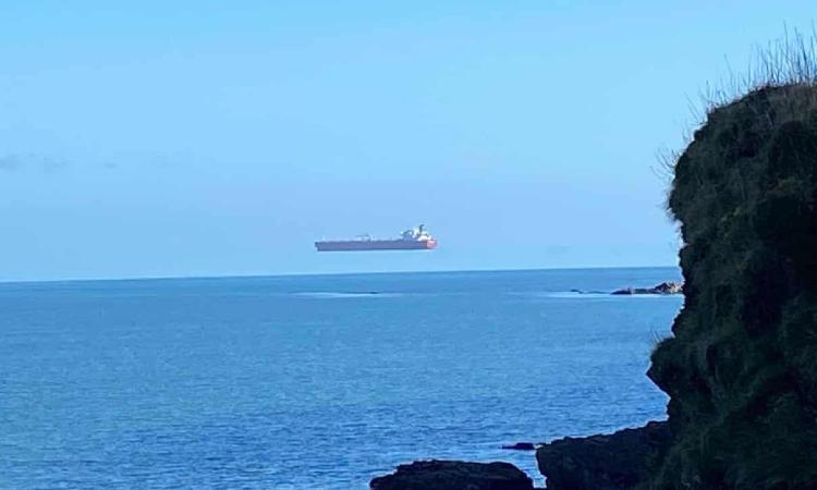 Floating ship, Cornwall