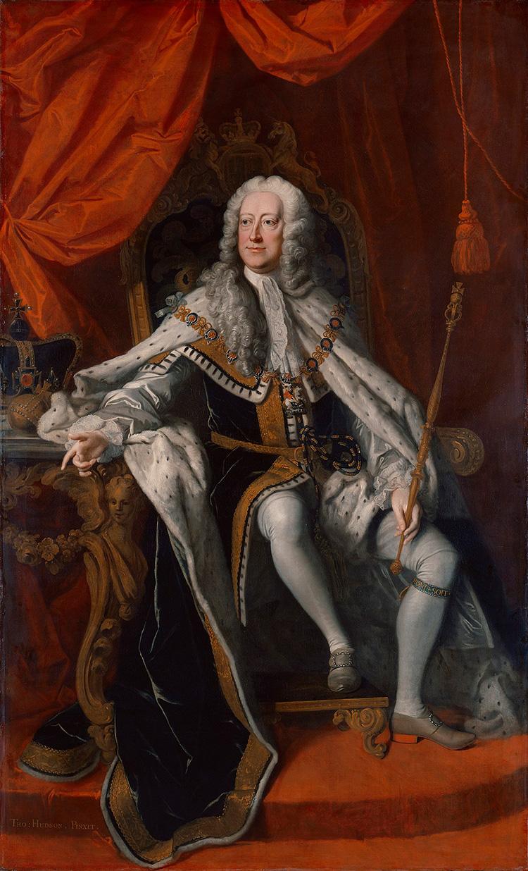 king george ii portrait
