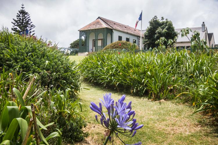 Longwood House, Napoleon Bonaparte`s last residence during his exile on St. Helena Island