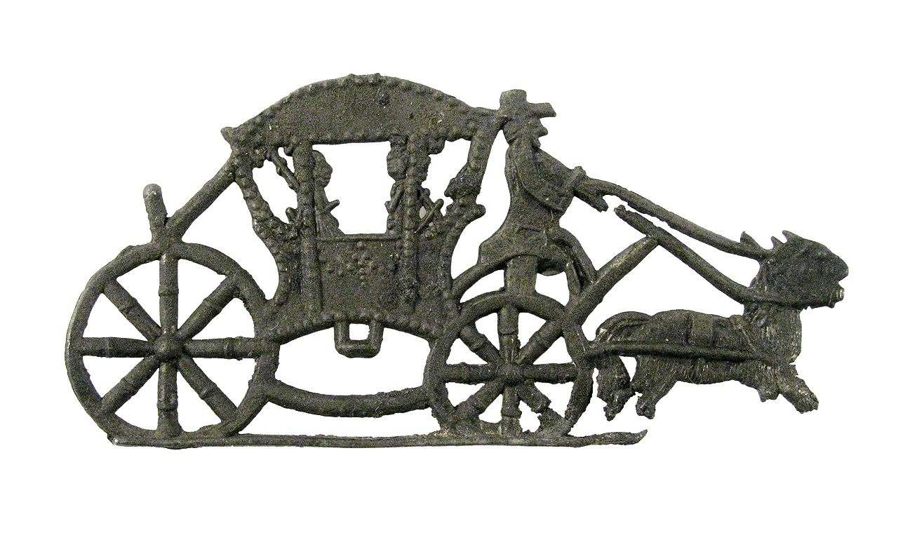 17th century Miniature toy coach